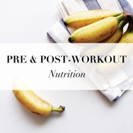 Pre, During & Post Workout